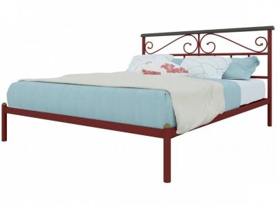 Кровать Эсмеральда красная