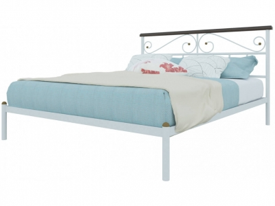 Кровать Эсмеральда белая