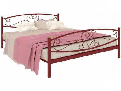 Кровать Каролина Plus красная