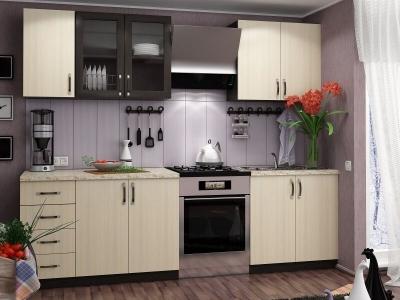 Кухня Татьяна Венге-Дуб Беленый