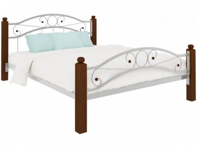 Кровать Надежда Lux plus белая