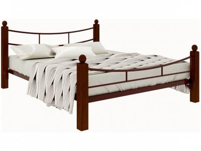 Кровать София Lux plus коричневая