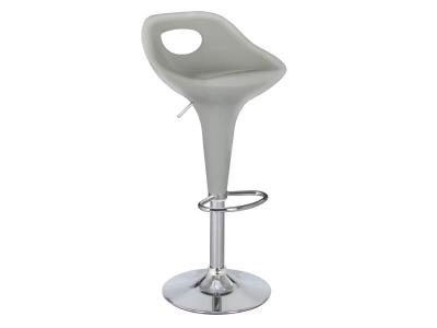 Барный стул Малибу WX-2204 пластик серебро