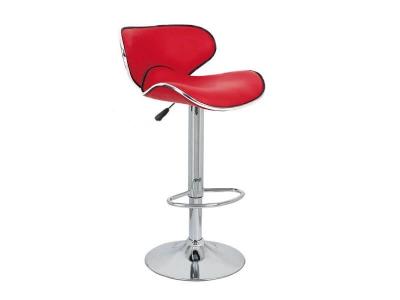 Барный стул Сатурн WX-2356 экокожа красный