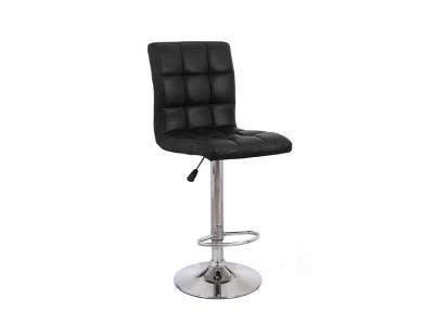 Барный стул Крюгер WX-2516 экокожа чёрный