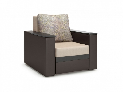 Кресло Браун нераскладное Royal/latte