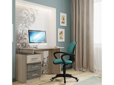 Компьютерный стол СВ-8 Дуб Сонома-Сосна Джексон