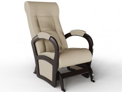 Кресло-качалка Мартин экокожа крем