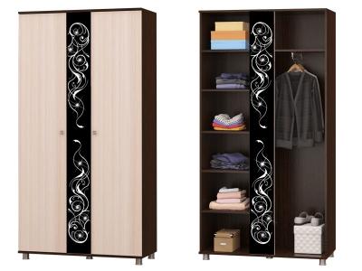 Шкаф для одежды Соната 11 венге/дуб млечный