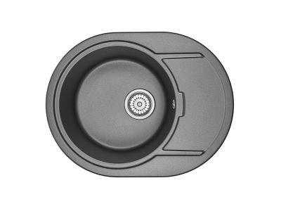 Кухонная мойка Granula 6502 Шварц
