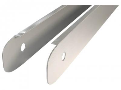 Профиль Торцевой алюминиевый для столешниц 28 мм ДО-018
