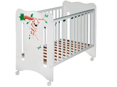 Кроватка детская Руслана базовая Крошка Енот
