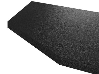 Столешница постформинг торцевавя 40 мм (Черный) 1500 мм