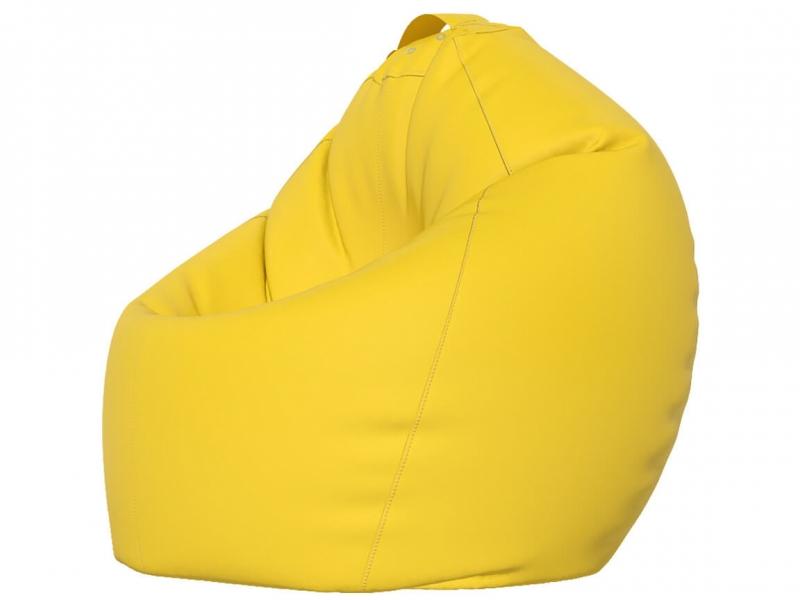Кресло-мешок XXL нейлон желтый